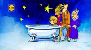 Lidl uwalania wannę na święta