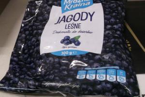 Biedronka wycofuje mrożone jagody z powodu salmonelli