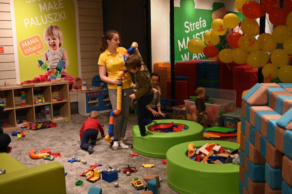 Pop-up placu zabaw w Arkadach Wrocławskich