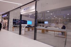 x-kom z salonem w Galerii Północnej