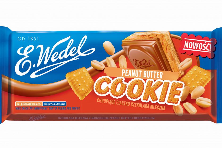 E.Wedel wprowadza nową wersję czekolady Cookie