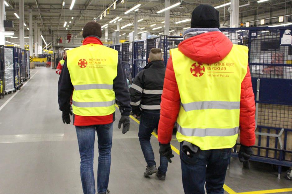 Zarząd DHL Parcel przed Świętami także pracuje w sortowni