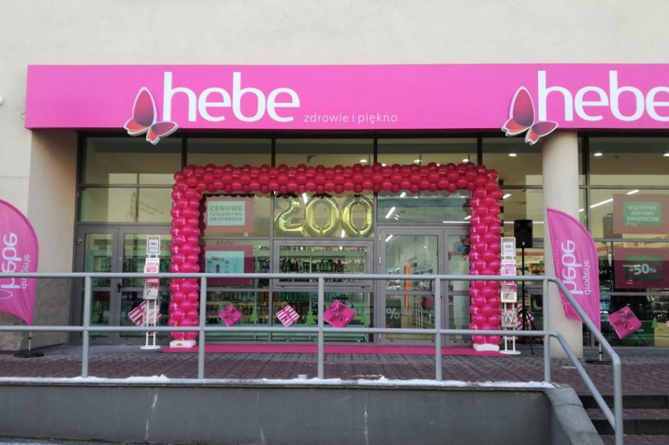 Sieć Hebe otworzyła 200. drogerię