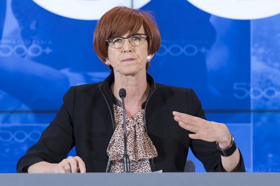 Elżbieta Rafalska: W 2019 r. bezrobocie jeszcze spadnie