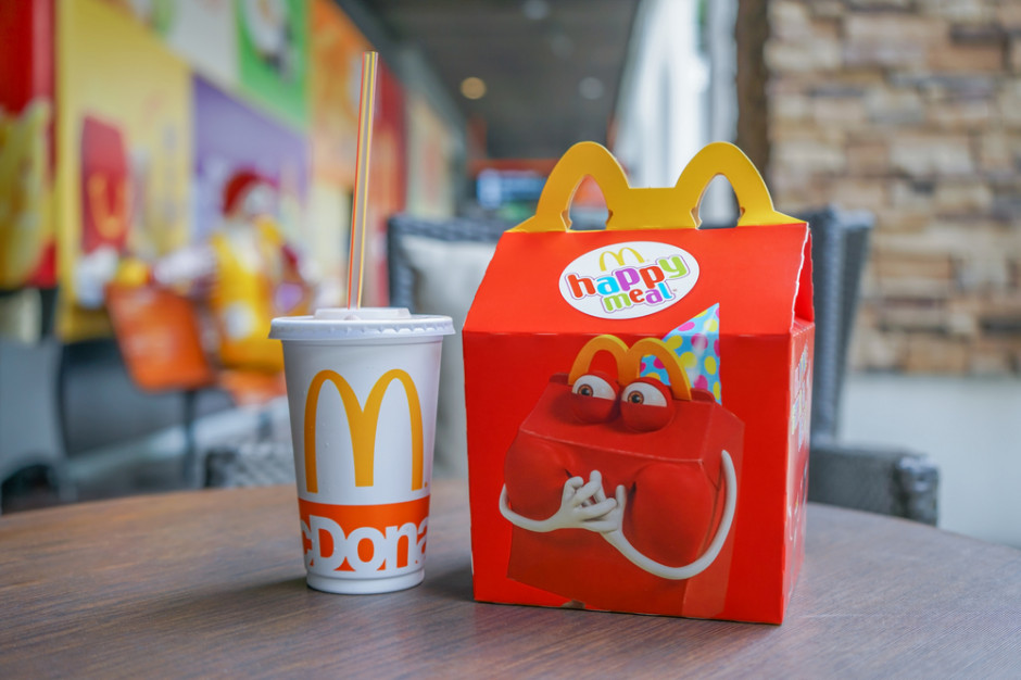 McDonald's odchudza zestawy Happy Meal
