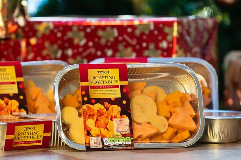 b257c8799f3c67 Kawałki warzyw w kształcie choinki i bałwana – Tesco wprowadziło linię dla  dzieci Fot. Tesco Plc