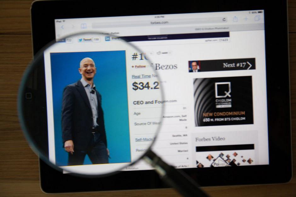 Rozwód uszczupli konto szefa Amazona?