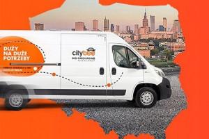 CityBee: 10,5 tys. użytkowników aut dostawczych w trzy miesiące