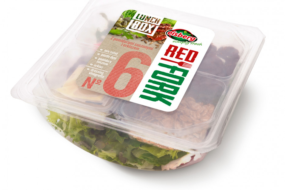 Lunch Boxy Red Fork od marki Eisberg