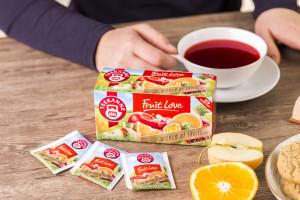 Herbatka owocowa Fruit Love w portfolio TEEKANNE