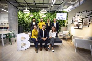 Centrum IKEA dla Firm nawiązuje współpracę z Własne B.