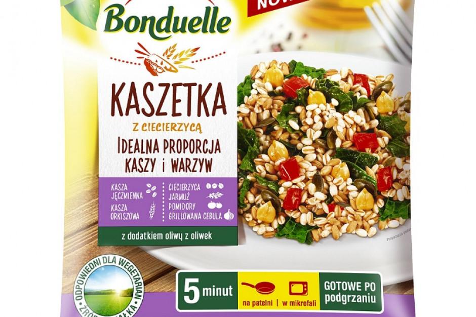 Bonduelle Kaszetka – nowe mrożone dania gotowe z kaszą i warzywami