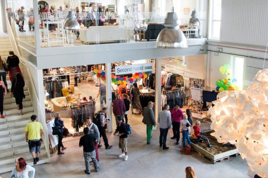 """W Szwecji ruszyła galeria handlowa z towarami """"z drugiej ręki"""""""