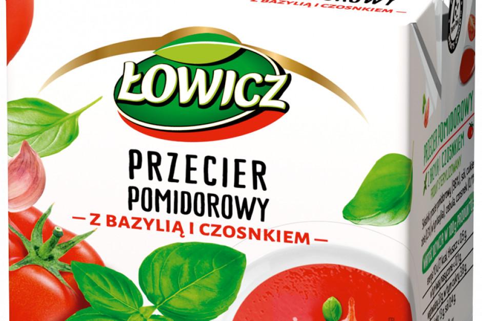 Pomidorowe nowości od marki Łowicz