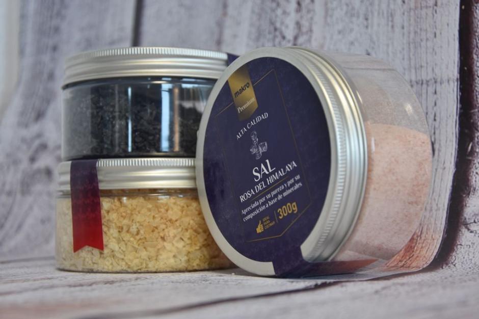 Pięć rodzajów soli pod marką Makro Premium