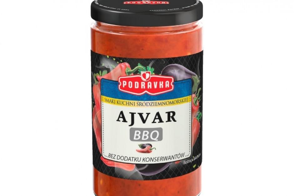 Trzy nowe smaki past warzywnych Ajvar Podravka