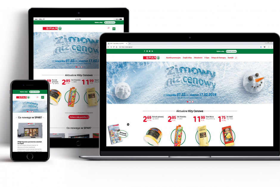 Spar wchodzi w e-commerce
