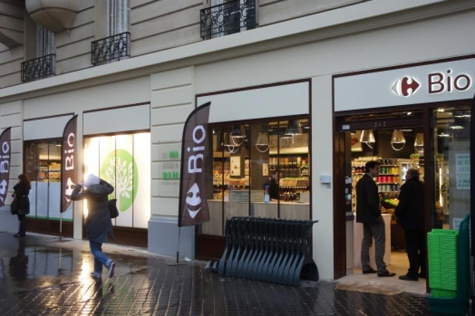 Pierwszy Carrefour Bio rusza przy ulicy Dobrej w Warszawie