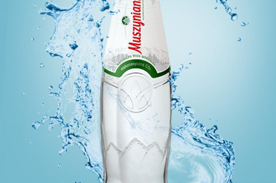 Muszynianka premium w szklanej butelce trafiła do sprzedaży