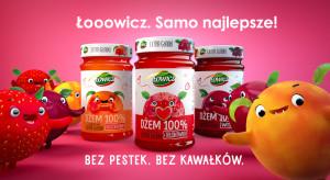 Nowa odsłona kampanii dżemów Extra Gładkich Łowicz