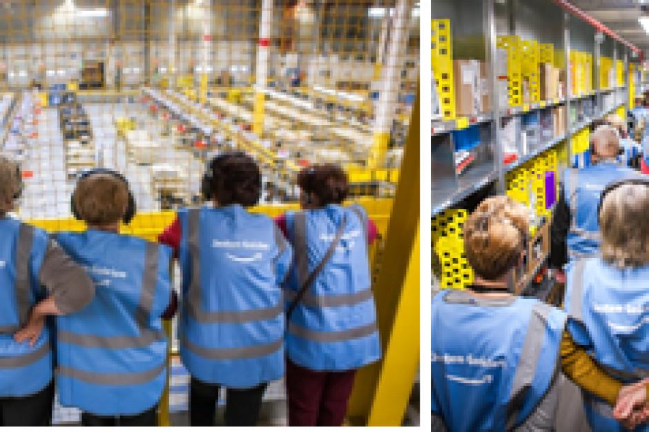 """Amazon """"od kuchni"""" - można zwiedzić centra logistyczne firmy"""