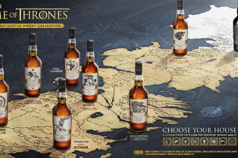 Limitowana kolekcja whisky single malt Gra o Tron od Diageo