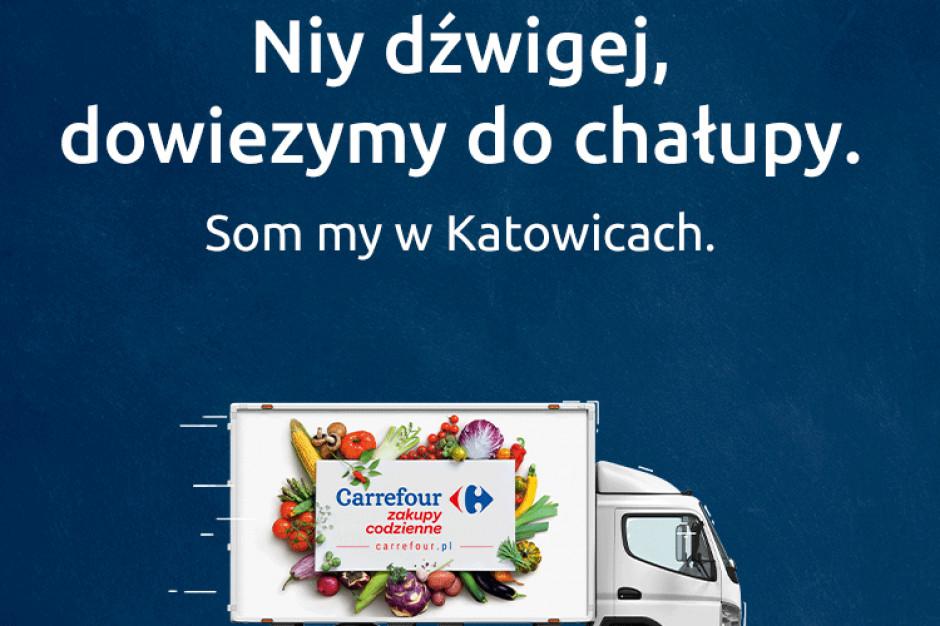 Carrefour wchodzi z e-sklepem do Katowic. W planach kolejne miasta
