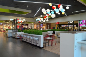 Gemini Park Tarnów zmodernizował food court