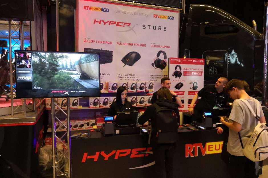 RTV Euro AGD otworzyło sklep dla graczy na Intel Extreme Masters