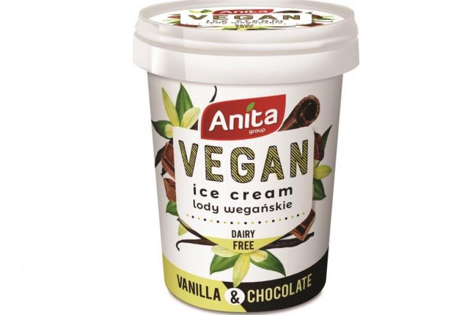 Firma Anita wprowadza lody dla wegan