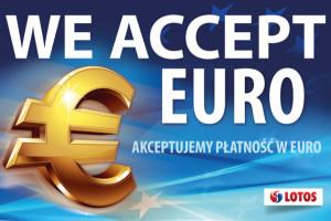 Płatności w euro i cashback na stacjach Lotos