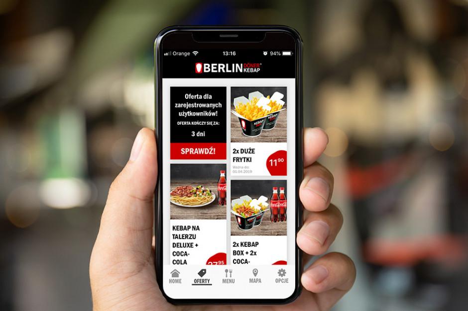 Berlin Döner Kebap z aplikacją mobilną