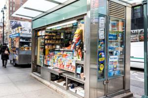 Liczba kiosków z prasą zmniejszyła się o połowę
