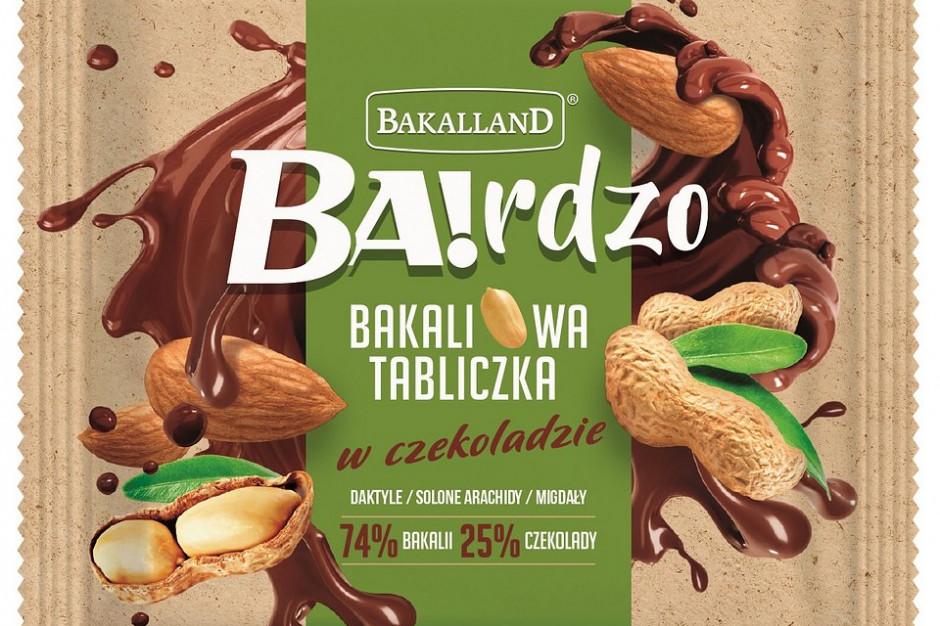 Bakalland wchodzi w nową kategorię - czekoladę z bakaliami
