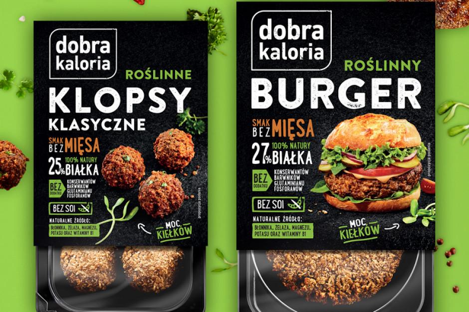 Dobra Kaloria i jej wege burgery wchodzą na półki Lidla