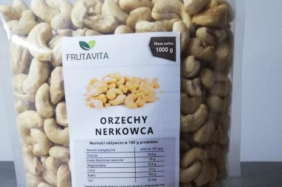 Bakalie Frutavita w kilogramowym opakowaniu