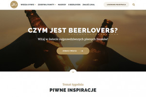 Kompania Piwowarska promuje serwis Beerlovers.pl
