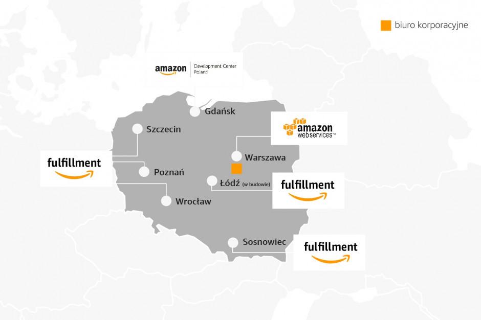 Amazon rekrutuje do nowego centrum pod Łodzią
