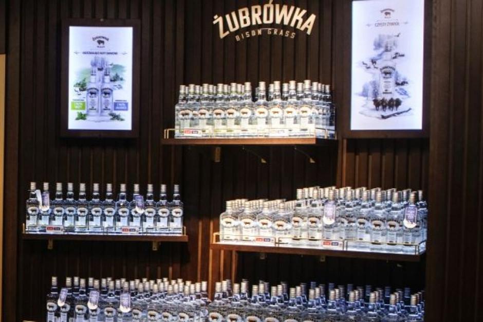 Żubrówka trzecią najlepiej sprzedającą się wódką na świecie