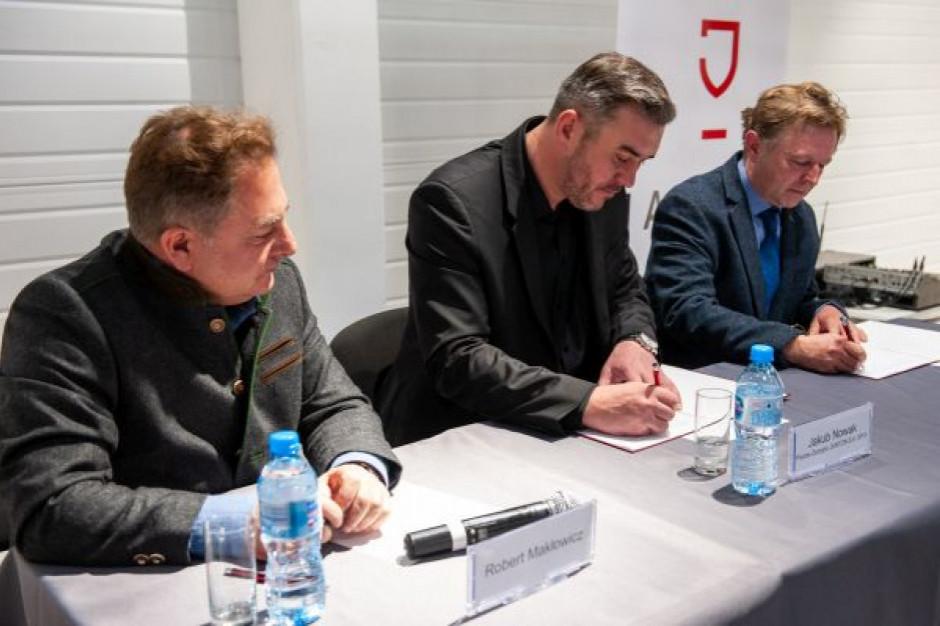 Jantoń i Wino Makłowicz podpisały umowę z polską winnicą