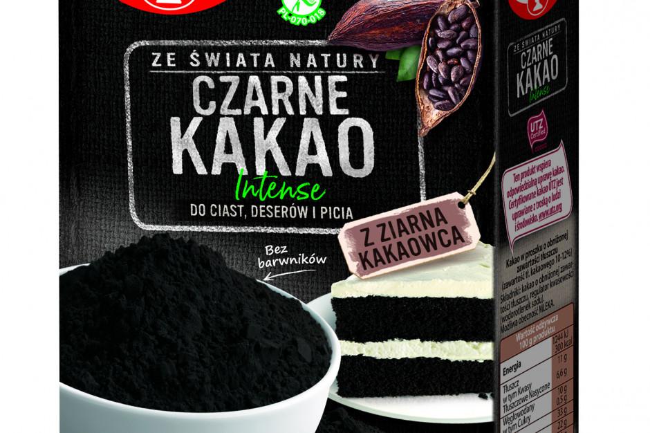 Czarne Kakao Intense oraz Ciemne Kakao Dr. Oetkera