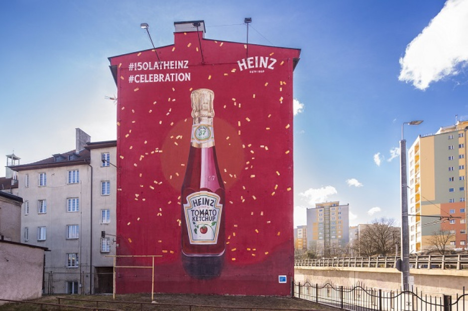 Urodzinowe murale marki Heinz