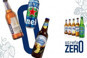 Piwa bezalkoholowe hitem sprzedaży w małych sklepach. Grupa Żywiec tworzy specjalne strefy