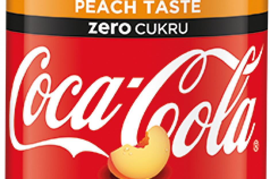 Brzoskwiniowa Coca-Cola wsparta kampanią w mediach i sklepach