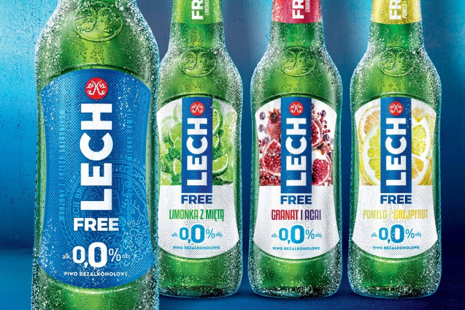 Lech Free 0,0% w nowych smakach