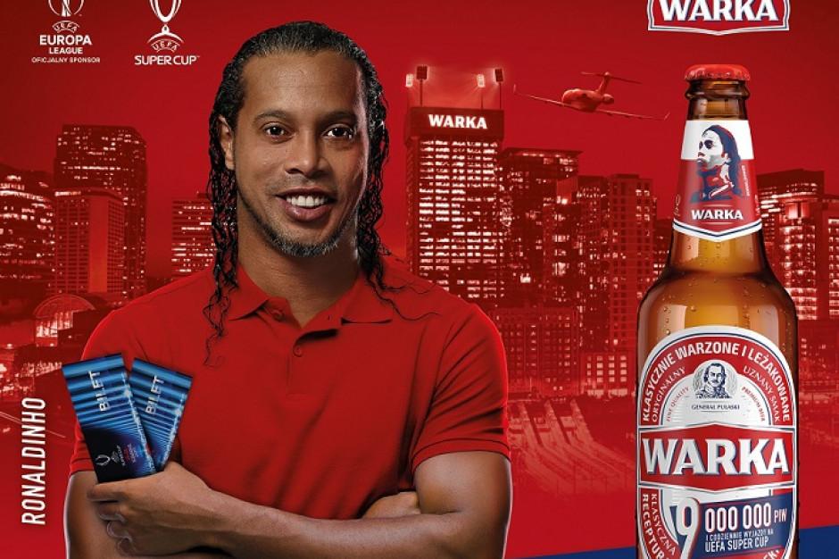 Ronaldinho w nowej kampanii Warki