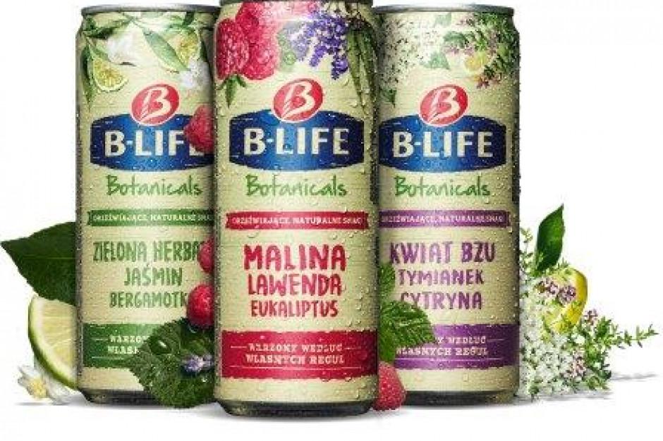 Kompania Piwowarska stawia z warzonym napojem botanicznym B-life Botanicals