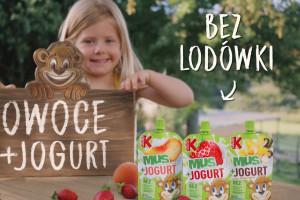 Nowość od marki Kubuś: Mus+Jogurt