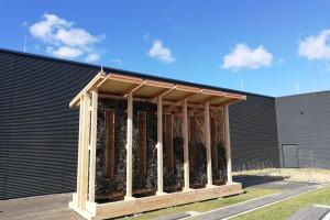Na dachu Galerii Północnej powstaje tężnia solankowa