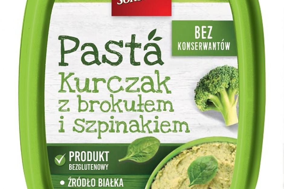 Nowe pasty mięsno-warzywne od marki Sokołów